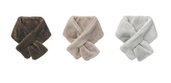 無印のマフラー『巻く毛布』カラー